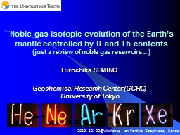 Noble gas isotopic evolution of the Earth's mantle contro