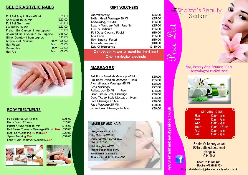 BODY TREATMENTSParaf�n Wax from 15 min Hot Stone Therapy Ma
