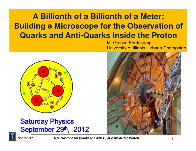 A Billionth of a Billionth of a Meter:Building a Microscope for the Ob