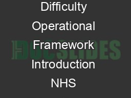 Postgraduate Medical Education in Scotland Management of Trainee Doctors in Difficulty Operational Framework Introduction NHS Education for Scotland NES works in partnership with NHS and University em