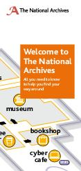 lockers restaurant museum bookshop cyber cafe welcome desk main entrance stairs to reading rooms coffee bar lift toilets  cash machine WiFi WiFi Welcome to The National Archives All you need to know