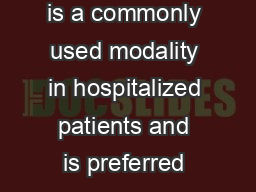 INTRODUCTION nteral nutrition is a commonly used modality in hospitalized patients and is preferred over par enteral nutritional support