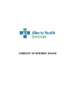 CONFLICT OF INTEREST BYLAW