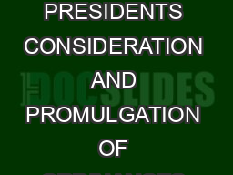 CHAPTER V RESERVATION OF BILLS BY GOVERNORS FOR PRESIDENTS CONSIDERATION AND PROMULGATION OF ORDINANCES  CONTENTS SectionsHeadings Para Nos