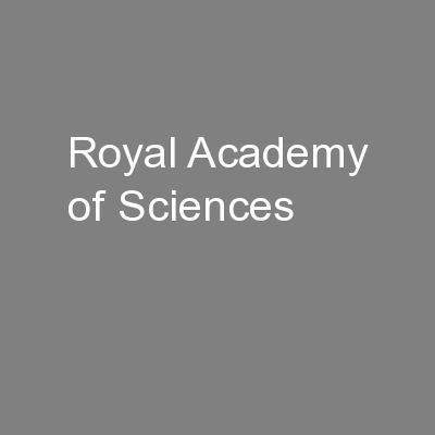 Royal Academy of Sciences
