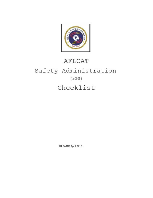 Safety Administration