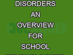 THE ATTUNED REPRESENTATION MODEL FOR THE PRIMARY PREVENTION OF EATING DISORDERS AN OVERVIEW FOR SCHOOL PSYCHOLOGISTS CATHERINE COOKCOTTONE SUNY at Buffalo The Attuned Representation Model of eatingdi PowerPoint PPT Presentation