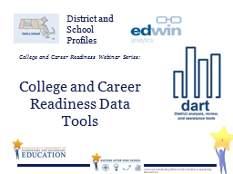 College and Career Readiness Webinar Series: