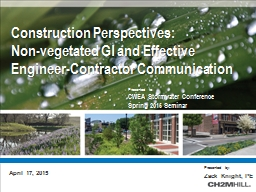 Construction Perspectives: PowerPoint PPT Presentation