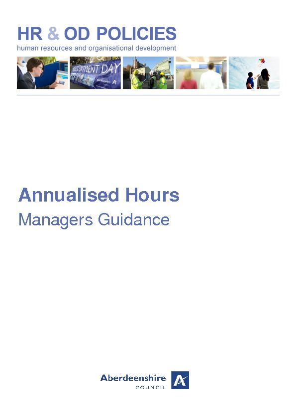 Annualised Hours
