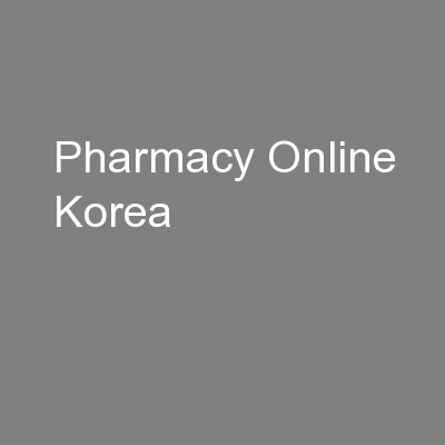 Pharmacy Online Korea