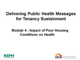 Delivering Public Health Messages for Tenancy Sustainment