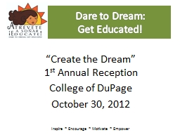 Dare to Dream: