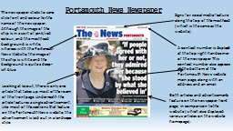 Portsmouth News Newspaper