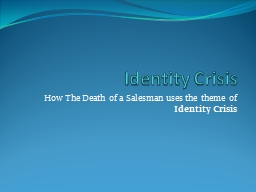 an analysis of the identity crisis of the american people In psychology, the term identity crisis refers to a personal, psychosocial conflict identity achieved people have thought profoundly about their beliefs and have no problem identifying the opponents of the racist wall are sporting che guevara t-shirts if you quote che's words - mexicans are a.
