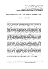 Journal of Social Welfare and Human Rights March   Vol