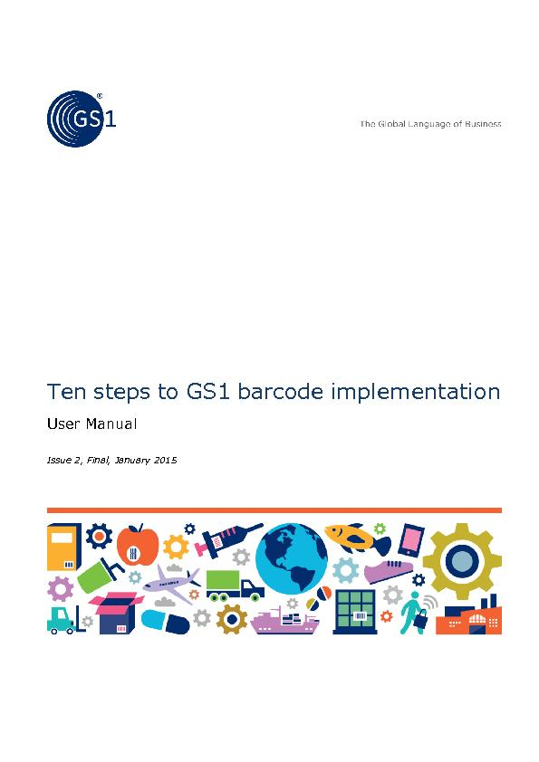 Ten steps to GS1 barcode implementation