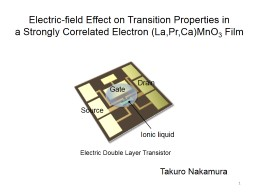 Electric-field Effect on Transition Properties in