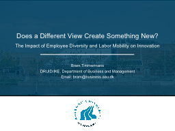 The Impact of Employee Diversity and Labor