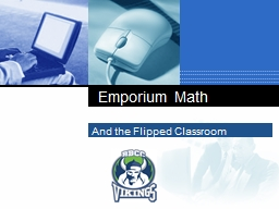 And the Flipped Classroom