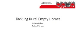 Tackling Rural Empty Homes PowerPoint PPT Presentation