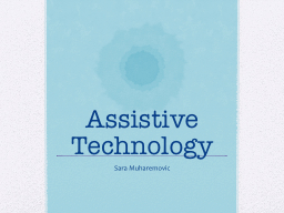 Assistive Technology PowerPoint PPT Presentation