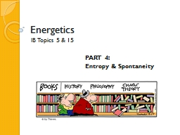 Energetics PowerPoint PPT Presentation