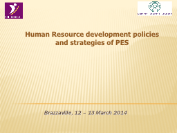 Brazzaville, 12 – 13 March 2014 PowerPoint PPT Presentation