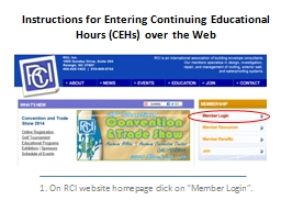 Instructions for Entering Continuing Educational Hours (CEH