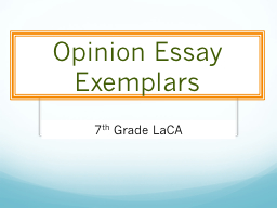 essay exemplar Extended essay reports and exemplars please read the reports before reading the essays the reports contain valuable information directly from ib examiners on what was successful and what was not also remember that just because something was successful in an exemplar, it does not mean that this is how the essay must be written.