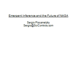 Emergent Inference and the Future of NASA