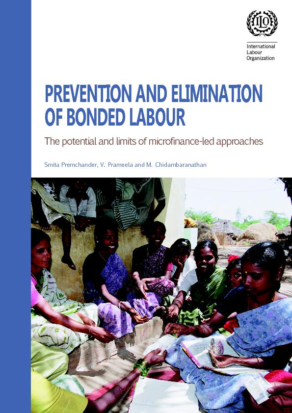 PREVENTION AND ELIMINATION OF BONDED LABOUR