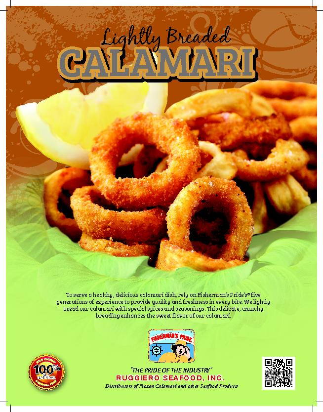THE PRIDE OF THE INDUSTRYDistributors of Frozen Calamari and other Sea
