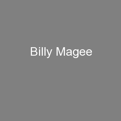 Billy Magee