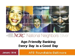 AFB Roundtable-Baltimore PowerPoint PPT Presentation