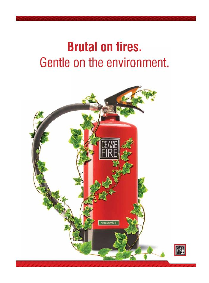Brutal on fires.Gentle on the environment. PowerPoint PPT Presentation