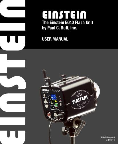 The Einstein E640 Flash Unit