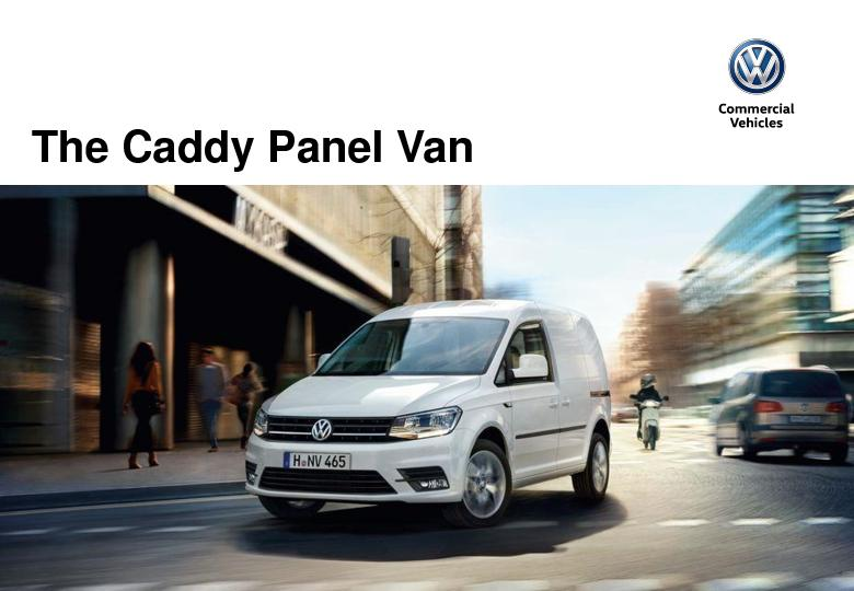 Caddy Panel Van PowerPoint PPT Presentation