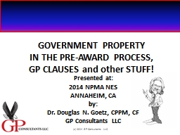 GOVERNMENT PROPERTY PowerPoint PPT Presentation