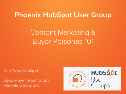 Phoenix HubSpot User Group