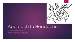 Approach to Headache