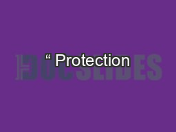 """ Protection"
