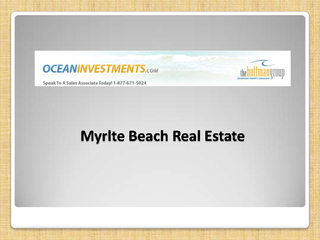 Myrlte Beach Real Estate