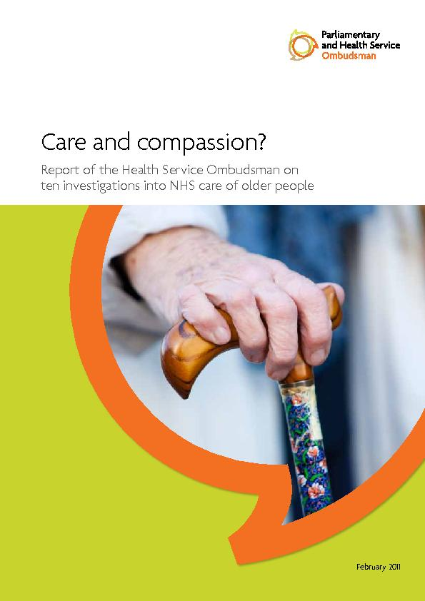 Care and compassion?Report of the Health Service Ombudsman onten inves
