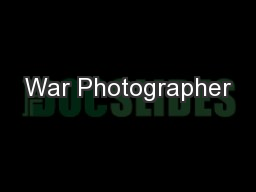 war photographer essay questions Gradesaver offers study guides, application and school paper editing services, literature essays, college application essays and writing help.
