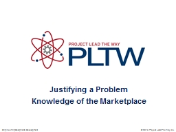 Justifying a Problem PowerPoint PPT Presentation