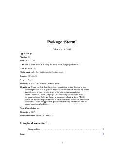 Package Storm February   Type Package Version PowerPoint PPT Presentation