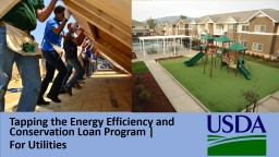 Tapping the Energy Efficiency and Conservation Loan Program