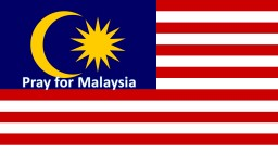 Pray for Malaysia