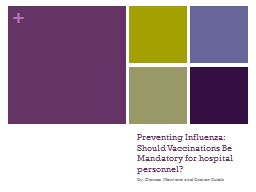 Preventing Influenza: Should Vaccinations Be Mandatory for